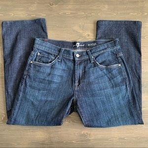 7 For All Mankind Austyn Dark Wash Jeans